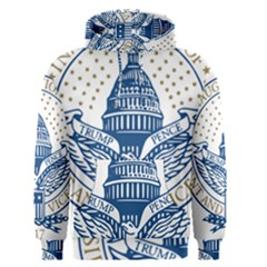 Presidential Inauguration USA Republican President Trump Pence 2017 Logo Men s Pullover Hoodie
