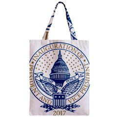 Presidential Inauguration USA Republican President Trump Pence 2017 Logo Zipper Classic Tote Bag