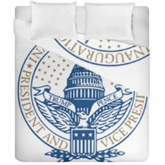 Presidential Inauguration USA Republican President Trump Pence 2017 Logo Duvet Cover Double Side (California King Size)