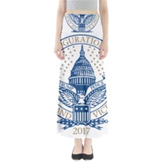Presidential Inauguration USA Republican President Trump Pence 2017 Logo Maxi Skirts
