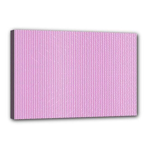 Pink Texture Canvas 18  X 12