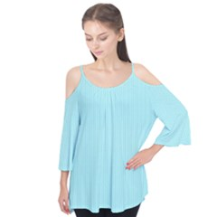 Light blue texture Flutter Tees