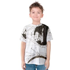 Planetary Equations Kids  Cotton Tee