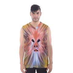 Monster Ghost Horror Face Men s Basketball Tank Top