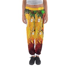 Abstract Fish Artwork Digital Art Women s Jogger Sweatpants