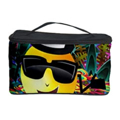 Abstract Digital Art Cosmetic Storage Case