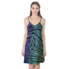 Abstract Background Rainbow Metal Camis Nightgown