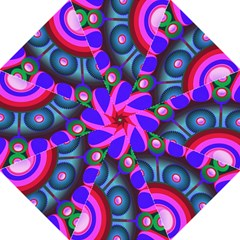 Abstract Digital Art  Folding Umbrellas