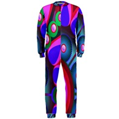 Abstract Digital Art  OnePiece Jumpsuit (Men)