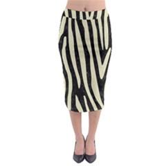 SKN4 BK-MRBL BG-LIN (R) Midi Pencil Skirt