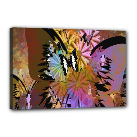 Abstract Digital Art Canvas 18  x 12