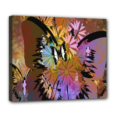 Abstract Digital Art Deluxe Canvas 24  x 20