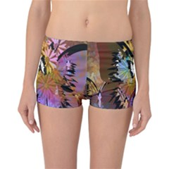 Abstract Digital Art Reversible Bikini Bottoms