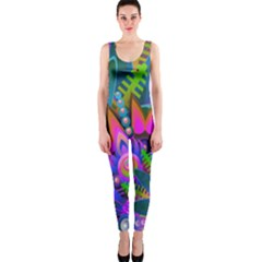 Abstract Digital Art  OnePiece Catsuit