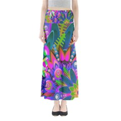 Abstract Digital Art  Maxi Skirts