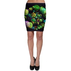 Abstract Balls Color About Bodycon Skirt
