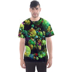 Abstract Balls Color About Men s Sport Mesh Tee