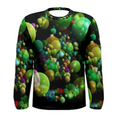 Abstract Balls Color About Men s Long Sleeve Tee