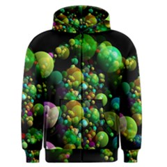 Abstract Balls Color About Men s Zipper Hoodie