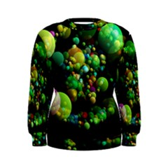 Abstract Balls Color About Women s Sweatshirt