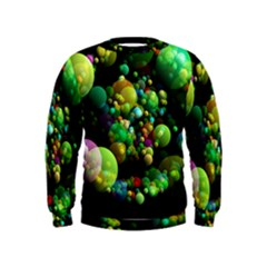 Abstract Balls Color About Kids  Sweatshirt