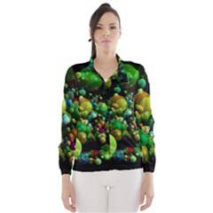 Abstract Balls Color About Wind Breaker (Women)