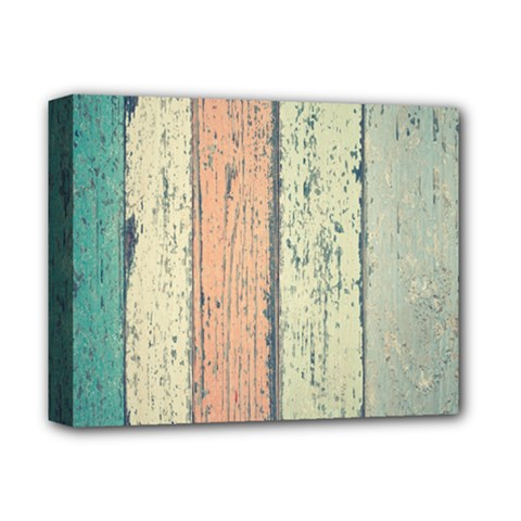 Abstract Board Construction Panel Deluxe Canvas 14  x 11
