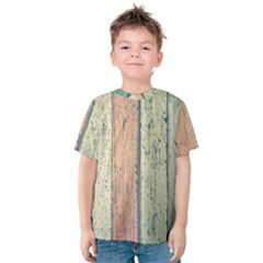 Abstract Board Construction Panel Kids  Cotton Tee