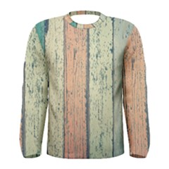 Abstract Board Construction Panel Men s Long Sleeve Tee