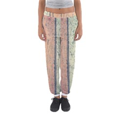 Abstract Board Construction Panel Women s Jogger Sweatpants