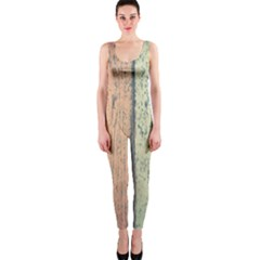 Abstract Board Construction Panel Onepiece Catsuit