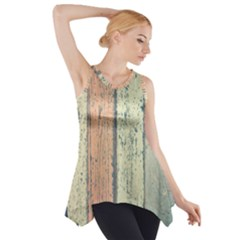Abstract Board Construction Panel Side Drop Tank Tunic