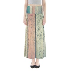Abstract Board Construction Panel Maxi Skirts