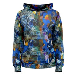 Abstract Farm Digital Art Women s Pullover Hoodie
