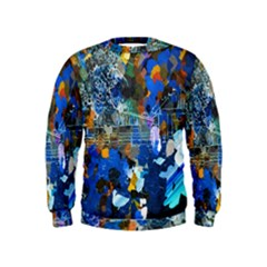 Abstract Farm Digital Art Kids  Sweatshirt