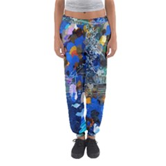Abstract Farm Digital Art Women s Jogger Sweatpants