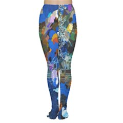 Abstract Farm Digital Art Women s Tights
