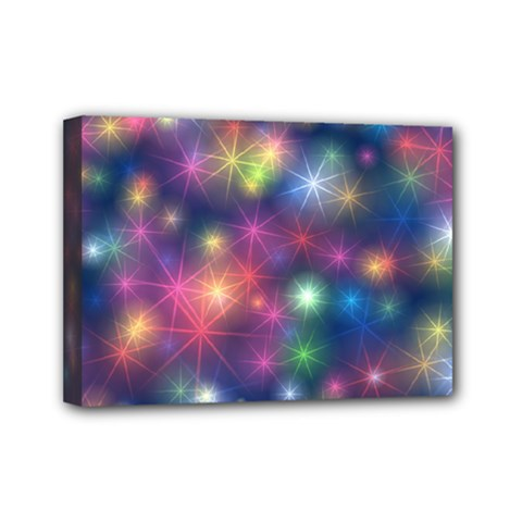 Abstract Background Graphic Design Mini Canvas 7  x 5