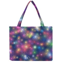 Abstract Background Graphic Design Mini Tote Bag