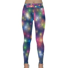 Abstract Background Graphic Design Classic Yoga Leggings