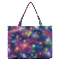 Abstract Background Graphic Design Medium Zipper Tote Bag