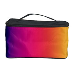 Abstract Rainbow Cosmetic Storage Case