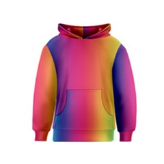 Abstract Rainbow Kids  Pullover Hoodie