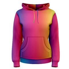 Abstract Rainbow Women s Pullover Hoodie