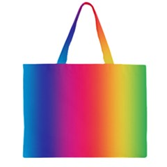 Abstract Rainbow Large Tote Bag