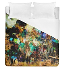 Abstract Digital Art Duvet Cover (queen Size)