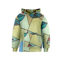 Abstract Art Face Kids  Pullover Hoodie