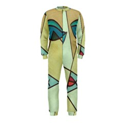 Abstract Art Face OnePiece Jumpsuit (Kids)