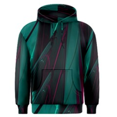 Abstract Green Purple Men s Pullover Hoodie