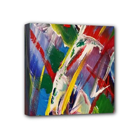 Abstract Art Art Artwork Colorful Mini Canvas 4  x 4